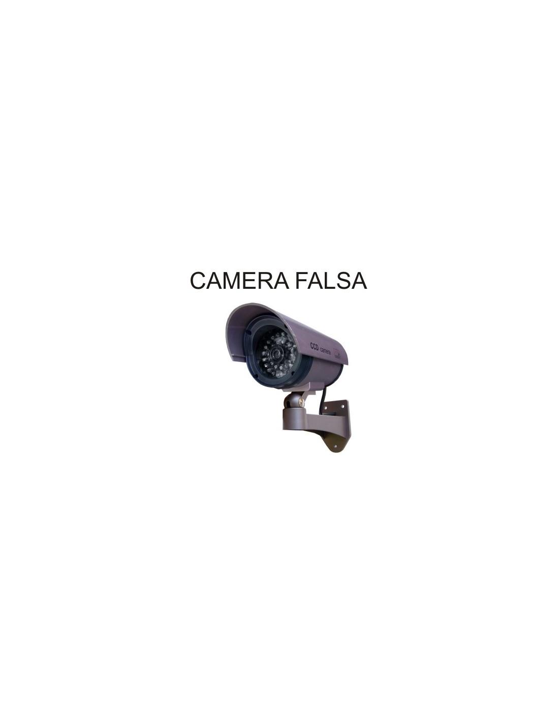 Camera vigilancia falsa com leds realista plural lojas - Camera de vigilancia ...