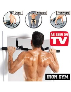 BARRA IRON GYM BARRA MULTIFUNCIONAL PARA PORTA
