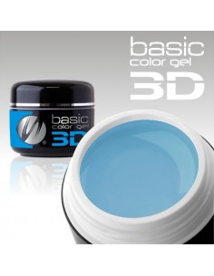 GEL UV 3D DE CÔR PASTEL BLUE