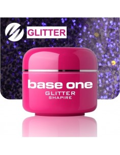 GEL UV DE CÔR GLITTERS SHAPIRE