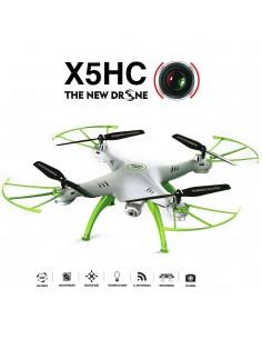 DRONE SYMA X5HC 2.4G -4 CANAIS COM GYRO + CAMERA +4GB SD