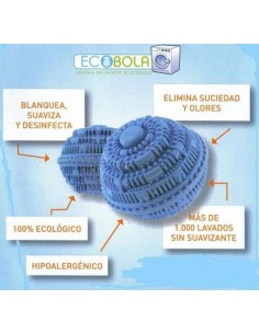CLEAN BALLZ 1000 LAVAG. ROUPA BOLA ECOLOGICA