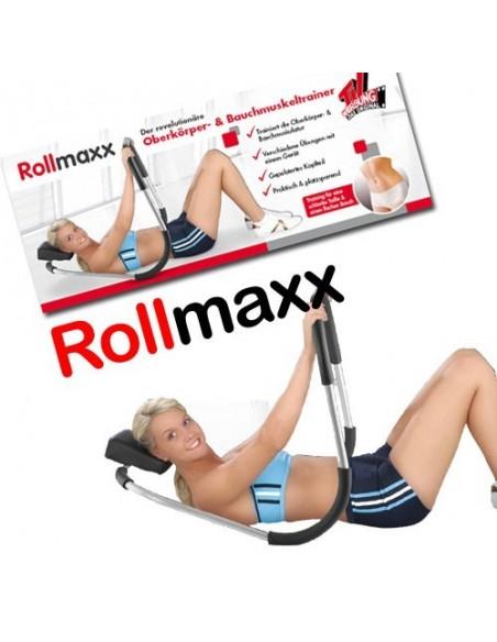 ROLLMAXX TONIFICA ABDOMEN -OMBROS-BRAÇOS ETC Maquinas Ginática / Musculação