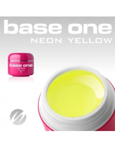 GEL UV DE CÔR NEON YELLOW GEL UV CORES NEON