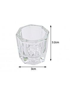 Copo de Vidro Para Liquido Acrilico