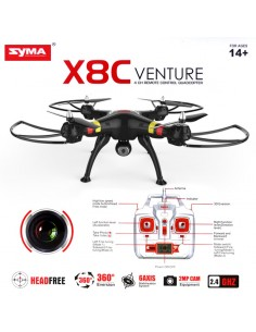 DRONE SYMA X8HC 2.4G -4 CANAIS COM GYRO + CAMERA