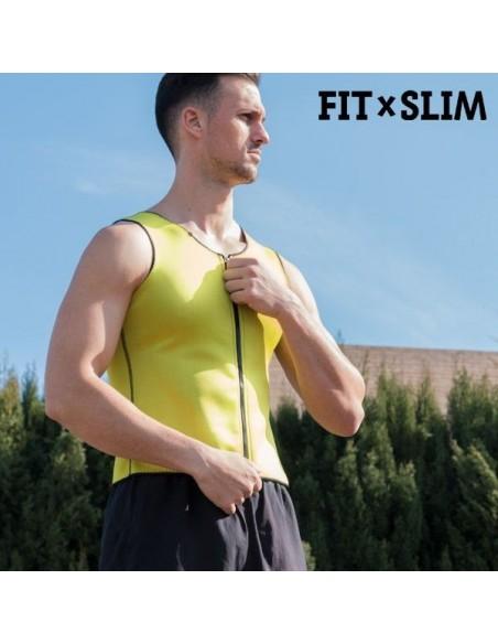 Colete Efeito Sauna Desportivo Homem Vestuario para Desporto