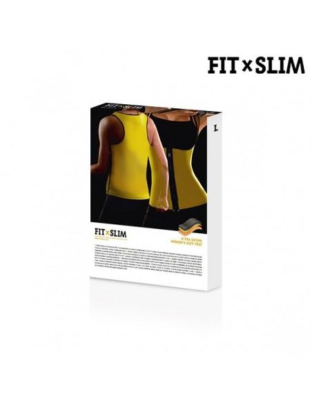 Colete Efeito Sauna Desportivo Mulher Vestuario para Desporto