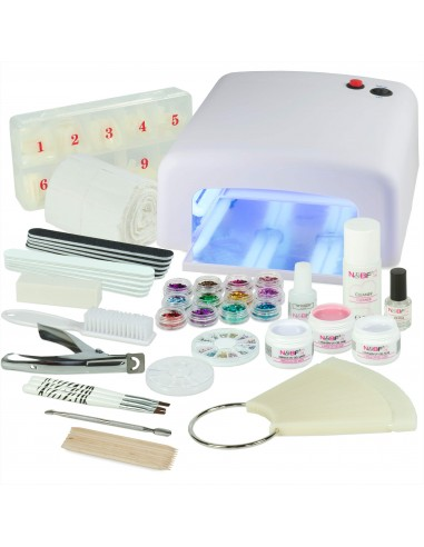 KIT PARA UNHAS DE GEL COMPLETO Manicure e Pedicure
