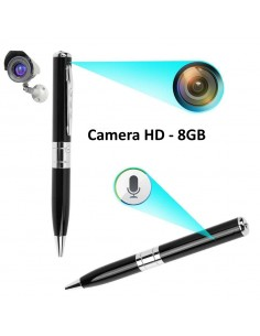 ESFEROGRAFICA COM CAMERA HD SPY 8GB AUDIO E VIDEO