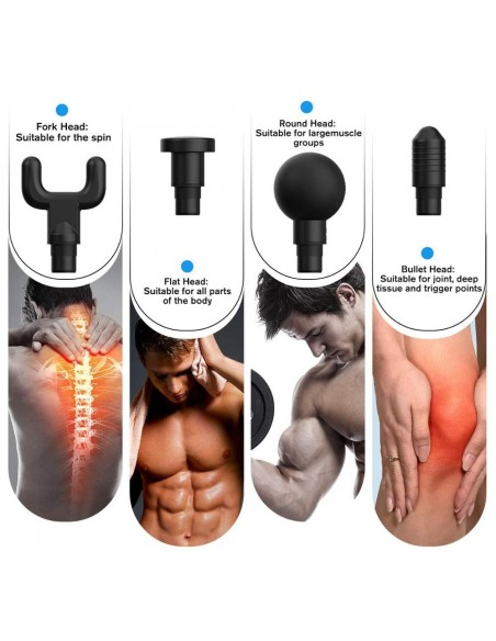 MASSAGE GUN PORTUGAL - MUSCLE GUN Estectica e Bem Estar