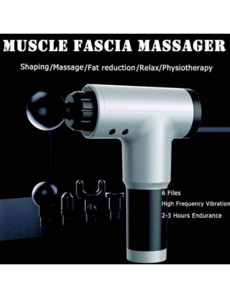 MASSAGE GUN PORTUGAL PISTOLA DE MASSAGEM Estectica e Bem Estar