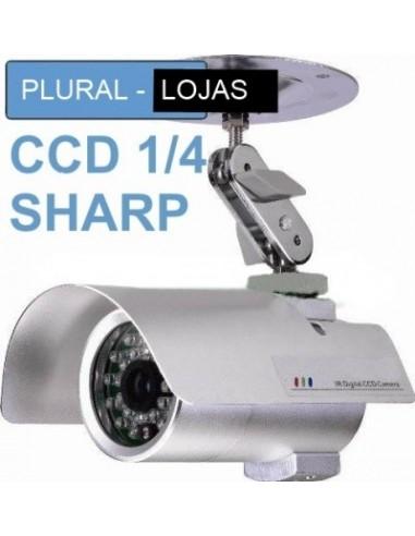 Camera CCD 35 Leds 1/4 SHARP 12 mm Cameras Ir