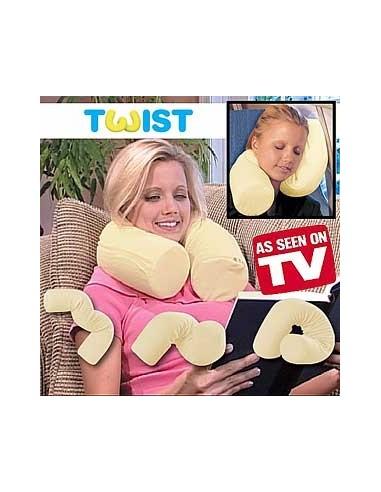 Travesseiro Flexivel Twist Pillow - Viagens Vistos na TV