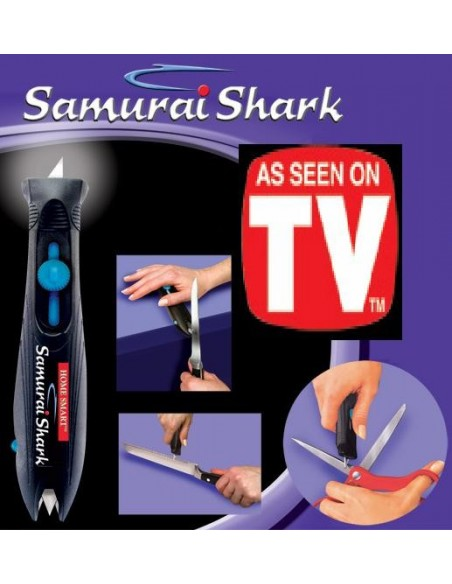 Samurai shark afiador de facas